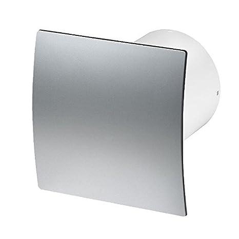 faible consommation /électrique KWS100 pour salle de bains cuisine 240.00V 100 mm toilettes Extracteur d/'air silencieux avec panneau avant moderne blanc 4.40W