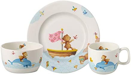 Villeroy & Boch Happy as a Bear Vajilla infantil, 3 piezas ...