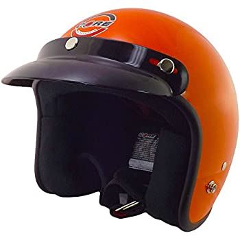 Core Helmets Hunter Safety Deluxe Open-Face Helmet (Orange, Medium)