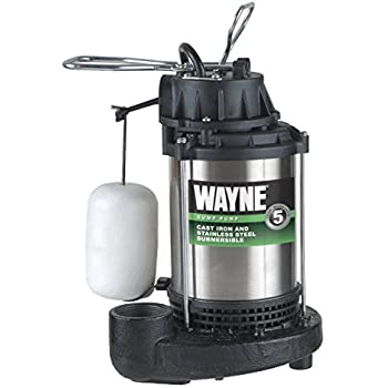 Integral Little Giant WRS-6 1//3HP Water Removal System 7-10 On Level 115V