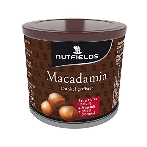 Nutfields - Macadamianüsse dunkel geröstet mit OMEGA3|135g