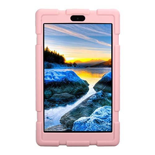 3g Silicone Touch (Christmas Best Kindle Accessory!!Kacowpper for Amazon Kindle Fire HD8 2017/2018 Universal Case Soft Silicone Rugged Cover)