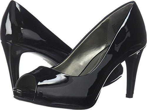 Bandolino Women's Rainaa Black Sleek Patent Pu 12 M US M