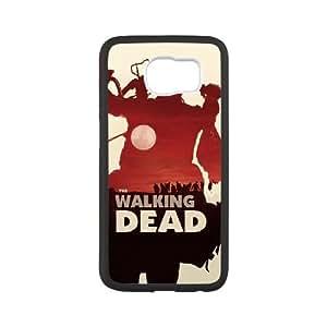 The Walking Dead 003 funda Samsung Galaxy S6 Cubierta blanca del teléfono celular de la cubierta del caso funda EVAXLKNBC13067