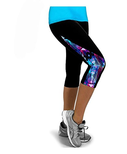 da Up Sportivi Pantaloni Collant Pantaloni 16 Colore Push Fliegend 4 Leggins Stampa Vita Leggings Yoga Donna Alta Elastici 3 n40HwOqA