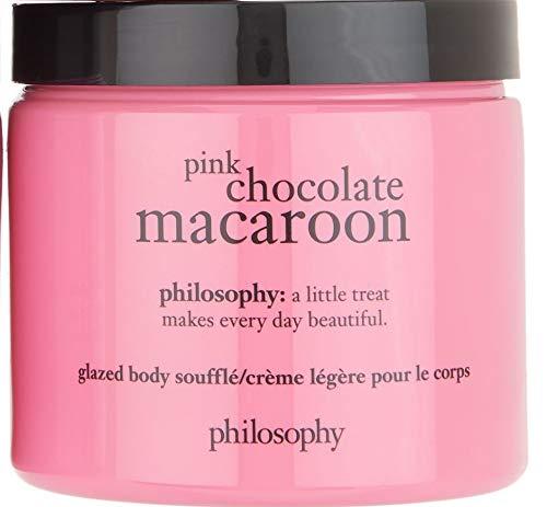 Body Chocolate Souffle Souffle - Philosophy Pink Chocolate Macaroon Glazed Body Souffle 16 oz