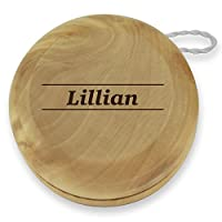 Dimension 9 Lillian Classic Wood Yoyo with Laser Engraving