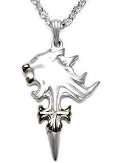 Amazon ff8 final fantasy squall lionheart wind necklace final fantasy vii squalls griever necklace aloadofball Images