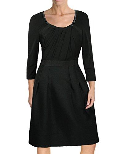 anne klein silk dress - 8