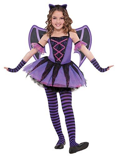 Bat Ballerina Costume (Girl's 3 - 4 Years Ballerina Bat Costume)