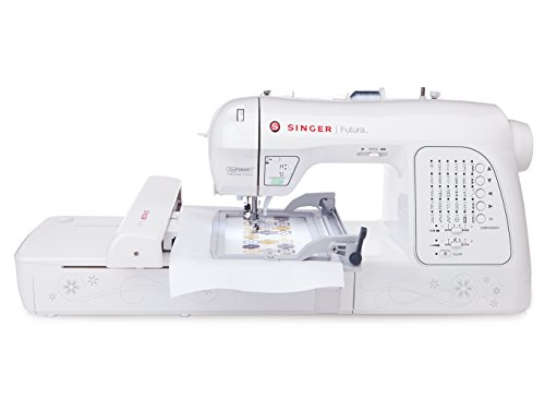 Singer Futura Sewing and Embroidery Machine Singer Futura Sewing Embroidery Machine