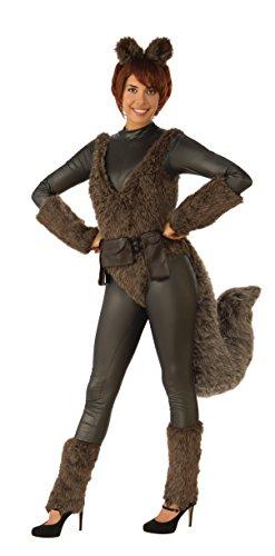 Womens Premium Squirrel Girl Costume - -