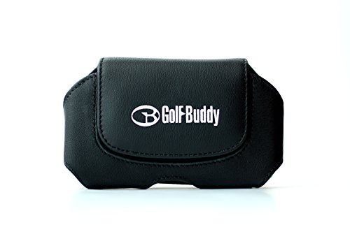 GolfBuddy Leather Holster Accessory, Black, Medium (Buddy Holster)