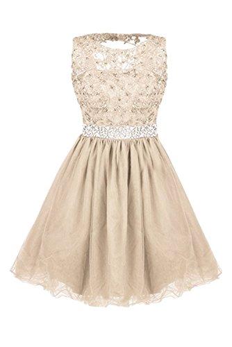 Ivydressing - Vestido - para mujer champán