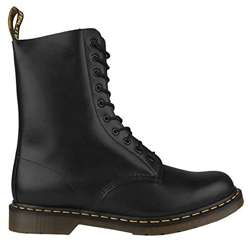 Dr. Martens Women's Black 1490 10 Eye Boot 8 B(M) UK