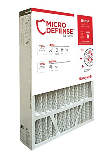 honeywell 20x25x5 furnace filter - 9