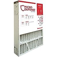 MicroDefense by Honeywell CF508A1625/E Filter, 5 Inch, 16x25, MERV 10, 16x25x5