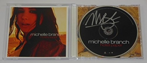 Michelle Branch Paper Hotel Hand Signed Autographed Music Cd Compact Disc Loa