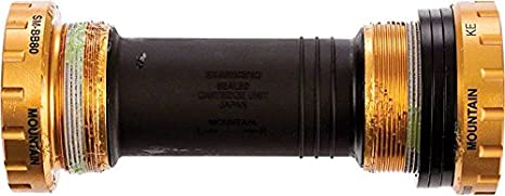 e1fe64be1c7 Image Unavailable. Image not available for. Color: Shimano SM-BB80 Saint Hollowtech  II Bottom Bracket (73-mm BSA)