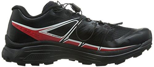 Salomon S-lab Wings Sg - Zapatillas de running Unisex adulto Negro - Schwarz (Black/Racing Red/White)