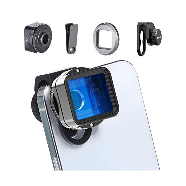 RetinaPix ULANZI 1.55XT Widescreen Cinematic Filmmaking Anamorphic Phone Camera Lens