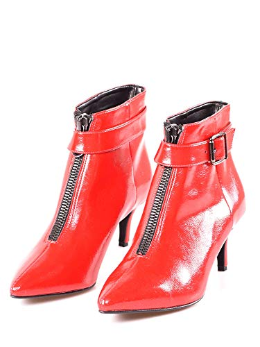 22282 Shoes Rosso Stivaletto Donna Grace Cv85f