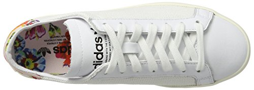 adidas Women's Courtvantage W Running Shoes, Bianco Multicolor (Ftwr White/Ftwr White/Ftwr White)