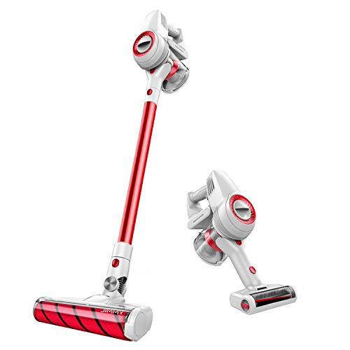 Jimmy Cordless Vacuum, Stick Vacuum Cleaner, 125 AW/20 Kpa Suction, 400W Digital Motor, Self Cleaning Floor Brush, Rechargeable Lithium Battery Powered Lightweight Vac JV51 2019