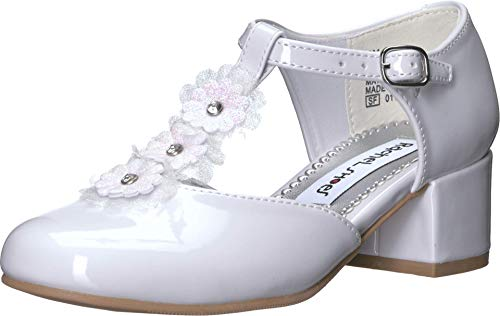 Rachel Kids Girl's Celeste (Little Kid/Big Kid) White Patent 4 Big Kid