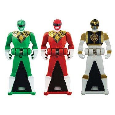 Power Rangers Super Megaforce / Key Pack,키 파워 레인저 인형/ 장난감 /피규어 /흰색/녹색/빨강(38279)