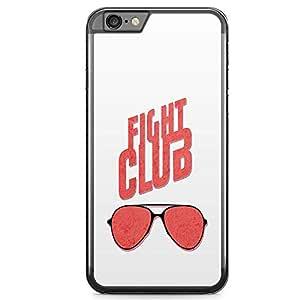 Loud Universe Fight club Classic Glasses Aviators iPhone 6 Plus Case with Transparent Edges