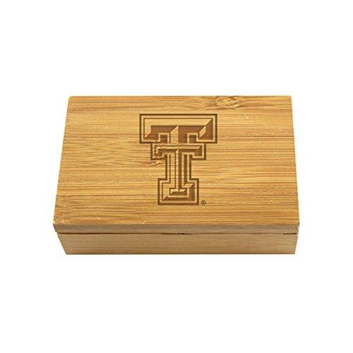 Texas Tech Bamboo Corkscrew Set