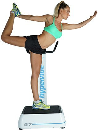 Hypervibe G 17 Whole Body Vibration Machine: The Best Whole Body Vibration Plate on the Market! Great Power Plate Vibration Therapy For Full Body Exercise.