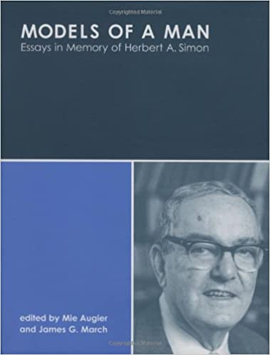 models of a man essays in memory of herbert a simon mit press  models of a man essays in memory of herbert a simon mit press mie augier james g 9780262012089 com books