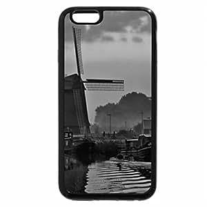 iPhone 6S Plus Case, iPhone 6 Plus Case (Black & White) - Beautiful Windmill