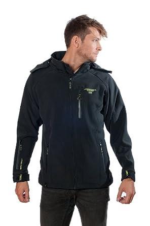 Jacket Geographical Hood Noir Tony Norway Softshell ywnN8Ovm0