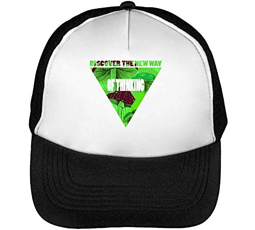 Discover The New Way Of Thinking Relax Collection Lsd Trip Nice To Gorras Hombre Snapback Beisbol Negro Blanco