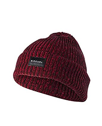 Rip Curl Men's FASE Beanie, Burnt Red, 1SZ