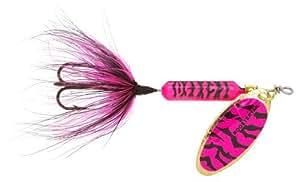 Yakima Wordens cebo de cola de centrifugador de Original diseño de gallos, rosa y negro diseño de tigre, / 1 6-ml tamaño: / 1 6-ml color: rosa y negro diseño de tigre, Model: 210-PKBT, herramientas y Hardware para guardar