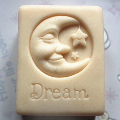 [Let'S Diy Good Dream Moon Stars 3D Silicone Mold Handmade Soap Candle Moulds] (2016 Womens Halloween Costumes Diy)