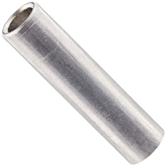 10 Aluminum Spacer 1//2 OD x 1//4 ID x 1//8 L Round by Metal Spacers Online