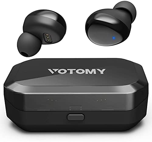 BluetoothWireless Earbuds, VotomyWireless Headphones in Ear with Noise Cancellation & Deep Bass, 200H Playtime/3500mAh Capacity, Touch Control, IPX7 Waterproof, TWS Stereo Earphones w/Built-in Mic