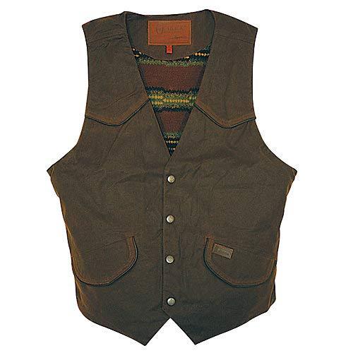 Outback Trading Men's Cliffdweller Vest, Bronze, XX-Large