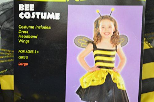 [Totally Ghoul Bee Costume NWT Bumble Bee Costume Girl's Medium] (Cute Inexpensive Halloween Costumes For Kids)