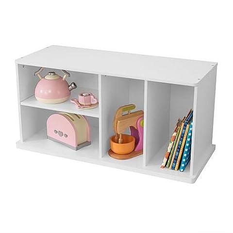 KidKraft Add on Storage Unit, White