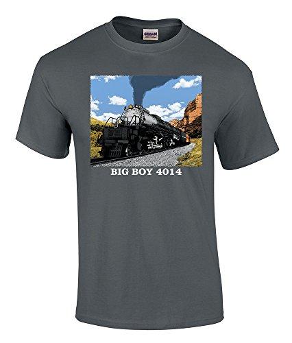 (Union Pacific Big Boy 4014 Authentic Railroad T-Shirt Adult X-Large [110])