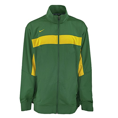 Swagger Knit (NIKE Men's Swagger Knit Jacket Green/Yellow 3XLT)