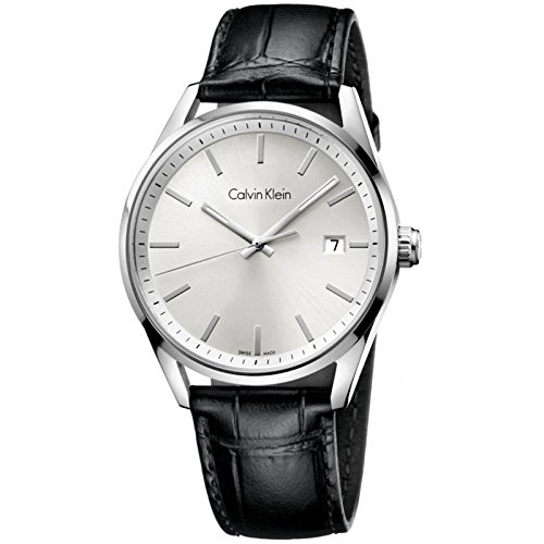 Jacob Time K4M211C6 Calvin Klein CK Formality Leather Mens Watch