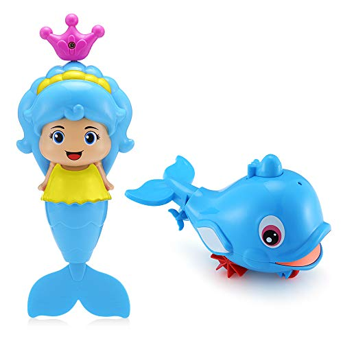 ACCEWIT Bath Toys, Improve Babys Thinking Ability and Creativity, Increase Interest in Bathing, Gift Toys for Boys and Girls