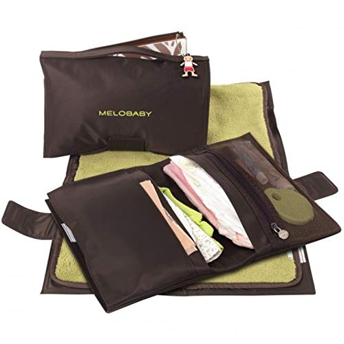 MeloBaby All-In-One Diaper Wallet and Changing Pad - Melochoc